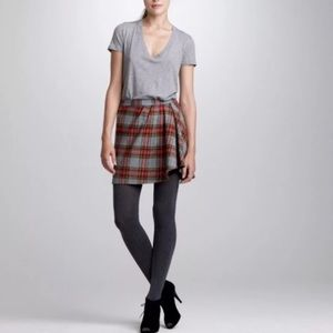 J.Crew Fireside Plaid Mini Town Skirt
